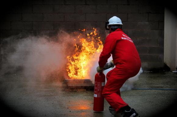 Antincendio dimostrazione